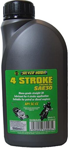 Silverhook Shma05 4 temps Sae30 Engineoil, 500 Milliliters