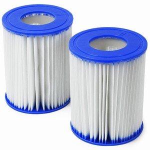 Boîte de 12 sachets de 2 Bestway Taille II $de cartouches de filtration pour piscines et Lay-z-Spas