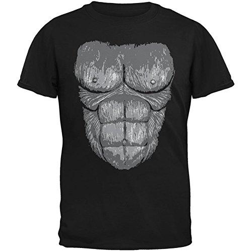 Gorilla Kostüm Kinder T-Shirt Anzug, Schwarz
