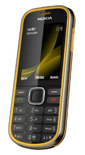 Nokia 3720 classic Handy (Outdoor, Bluetooth, E-Mail, Ovi, Kamera mit 2 MP) yellow