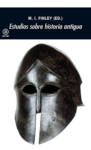 Estudios sobre historia antigua (Universitaria)