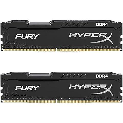HyperX HX426C15FBK2/16 - Memoria RAM de 16 GB, 2666MHz 1.2V, 288-pin DDR4 Non-ECC CL15 DIMM, Kit 2x8 GB (Skylake ready)