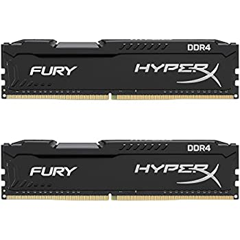 HyperX FURY Memory Black 16GB DDR4 2666MHz Kit 16GB DDR4 2666MHz memoria