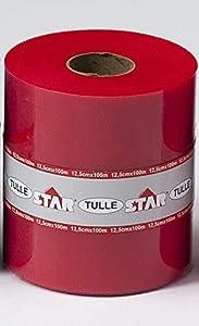 STAR-FILCAS-Tul bobinetta, Color Rojo, 158.100m00y