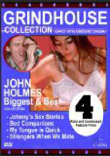 JOHN HOLMES: BIGGEST & THE BEST 4-FILM COLLECTION - JOHN HOLMES: BIGGEST & THE BEST 4-FILM COLLECTION (1 DVD)