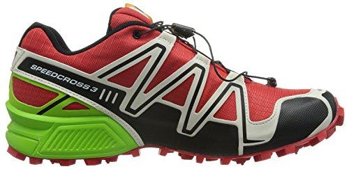 Salomon Speedcross 3, Scarpe da Trail Running Uomo Red