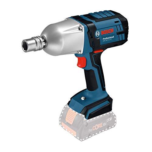 Bosch Professional Boulonneuses Sans Fil GDS 18 V-LI HT (18V, Ø des vis : M 12 - M 20, Couple max. : 650 Nm, Boîte carton, Sans batterie)