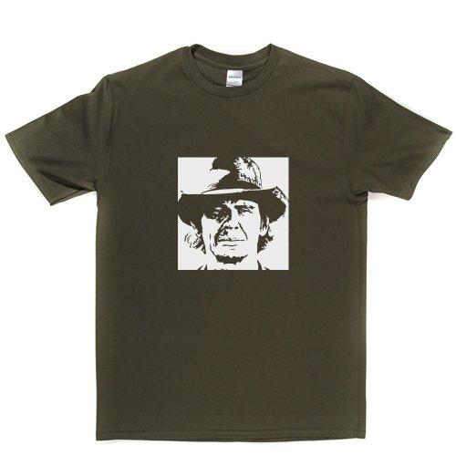Charles Bronson Hard Man Boxer Tough Guy Tee T-shirt Militärgrün