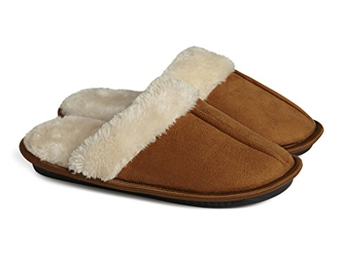 memory-foam-womens-slippers-fmr-faux-fur-lined-comfort-memory-foam-ladies-slippers-uk-5-6-m-tan