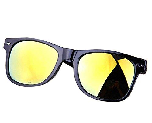 Cosanter Sonnebrille Mode Herren Sonnenbrille 100% UV 400 SCHUTZ Brille Unisex Modische Fahrer für Golf Autofahren Outdoor Sport Angeln