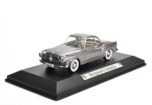 Borgward Isabella grau 1:43 Atlas DieCast metall Modellauto neu und box