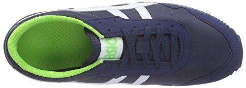 Asics Sumiyaka Gs, Unisex-Erwachsene Sneakers Blau (navy/white 5000)