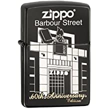 Zippo 2.004.489 Mechero Barbour Street de ébano regular choice Catalog 2014