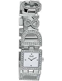 Reloj D & G Dolce Gabbana DW0031 día y noche diamantes de imitación de plata y