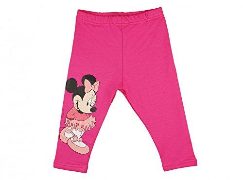 (Kleines Kleid Baby- / Mädchen- Thermo-Leggings GEFÜTTERT, lang, Minnie Mouse, Sport-Hose in GRÖSSE 74, 80, 86, 92, 98, 104, 110, 116, warme Hose eines Jogging-Anzug/Freizeit-Anzug in Pink Size 110)