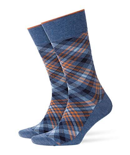 6cb783cbec Burlington Herren Socken Cadogan, Mehrfarbig (Light Denim 6660), 40/46