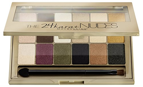 Maybelline 24 Karat Nudes Eye Shadow Palette 9.6g