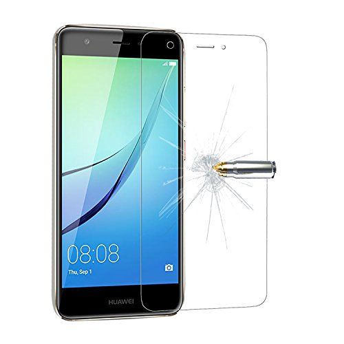 iProtect 2x Screen Protector Tempered Glass Hartglas Schutzfolie für Huawei Nova Display Schutzglas 0,3mm