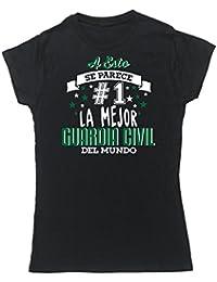 HippoWarehouse A Esto Se Parece #1 La Mejor Guardia Civil Del Mundo camiseta manga corta