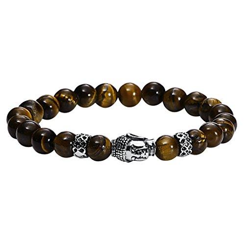 gnzoe-hommes-acier-inoxydable-buddha-beads-brun-bracelet-223x08cm
