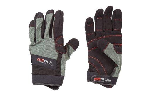 GUL Kinder, Sommer, Full-Finger-Handschuh Medium schwarz - Schwarz/Charcoal