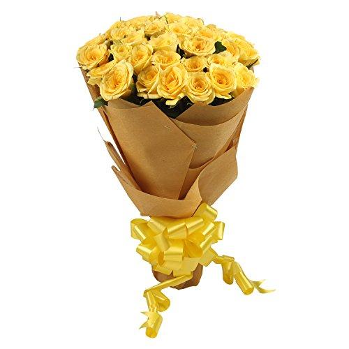 Irisa Fresh Yellow Rose Bouquet (Bunch of 41)