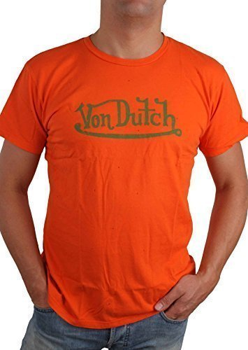 von-dutch-mens-t-shirt-medium-orange-m