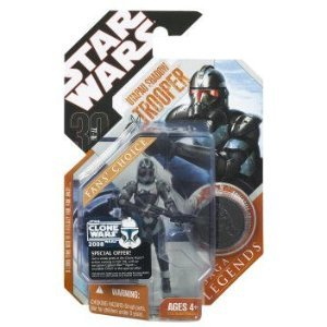 Star Wars 30th Anniversary Saga 2007 Legends Action Figure Utapau Shadow Trooper