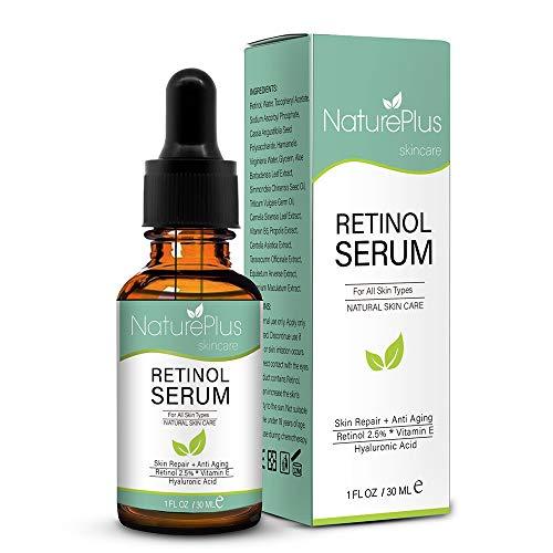 Retinol Liefersystem mit Hyaluronsäure, Vitamin E - Gleichmäßiger Hautton, Reduktion von Falten, feinen Linien, Altersflecken & Sonnenflecken ()