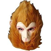 Nihiug Mono Orangután Halloween Cap Props Mini Colgante Ghost-Surtido Fantasmas De Halloween Ghostly Group,A