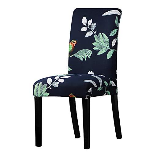 Spandex Elastische Blumendruck Muster Slipcovers Stretch Abnehmbare Esszimmerstuhlabdeckung Hotel Bankett Sitzbezüge k077 Universal Sizes