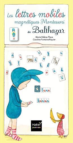 Coffret Les lettres mobiles magnétiques Montessori de Balthazar