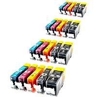 Logic-Seek® - Cartucce per Canon PGI-520 CLI-521 con chip, set da 20 -  Confronta prezzi e modelli