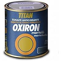 Industrias Titan. S.L 02D290034 - Esmalte antioxi. martele 750 ml gr ext. oxiron titan