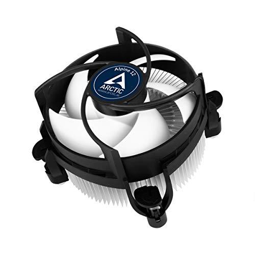 ARCTIC Alpine 12 - CPU kühler für Intel Sockeln, durch 92 mm PWM Lüfter bis zu 95 Watt Kühlleistung - Mit voraufgetragener MX-2 Wärmeleitpaste - Einfachen Montagesystems