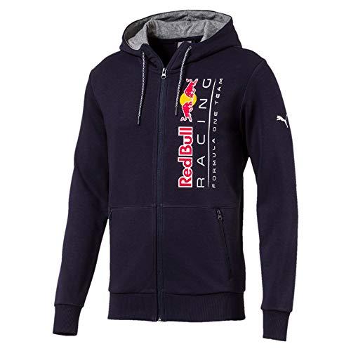 PUMA Blouson à Capuche en Sweat Red Bull Racing pour Homme Night Sky XL