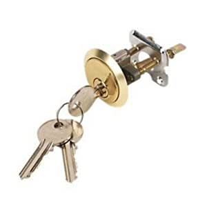 HEAVY DUTY Replacement Yale Type Rim Cylinder Door Lock Nightlatch Brass with 3 Keys