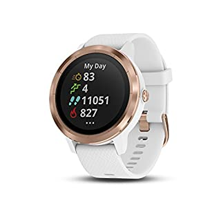 Garmin Vivoactive 3 Smartwatch con GPS, Unisex adulto, Bianco/Oro rosa (B07D191SPD) | Amazon price tracker / tracking, Amazon price history charts, Amazon price watches, Amazon price drop alerts