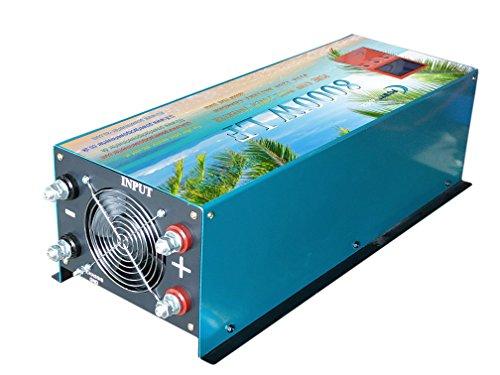 8000W Spannungswandler reiner/SINUS Power inverter Wechselrichter dc 24V/ac 230V UPS