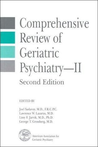 Comprehensive Review of Geriatric Psychiatry II by Lissy F Jarvik (1996-01-15)