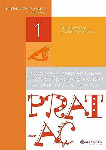 Prat-Ac 1: Programa para mejorar la capacidad de atención
