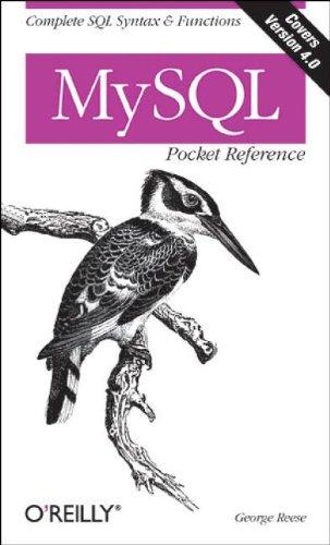 MySQL Pocket Reference (Pocket Reference (O'Reilly))