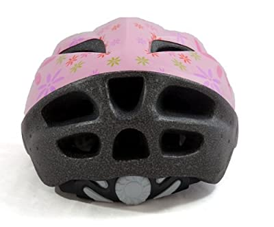 Sport DirectTM 11 Vent Bicycle Cycle Helmet Childrens Childs Kids Girls Pink 48-52cm from Sport DirectTM