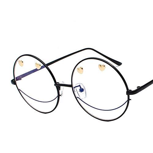 CFHJN Home Herren Sonnenbrillen Frauen Paar Sonnenbrillen Menschen Gelee Farbe Flache Brille Persönlichkeit Smiley Sonnenbrille