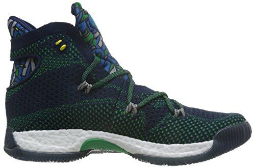 adidas Crazy Explosive, Basket homme Bleu - Azul (Maruni / Grpumg / Verde)
