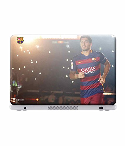 Macmerise Licensed FC Barcelona Suarez Laptop Skins For Dell Inspiron 14 - 3000 Series