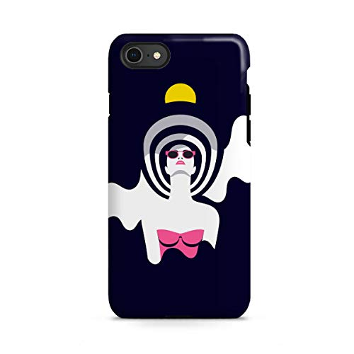 artboxONE Apple iPhone 8 Tough-Case Handyhülle Moonrise II von Sasha Lend - Tough-Case Handyhülle Smartphone Case