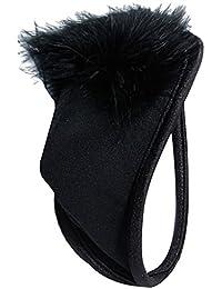 Sexy C-string Sous-vêtement Invisible pour Hommes (Noir)