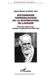 Dictionnaire terminologique de la systématique du langage