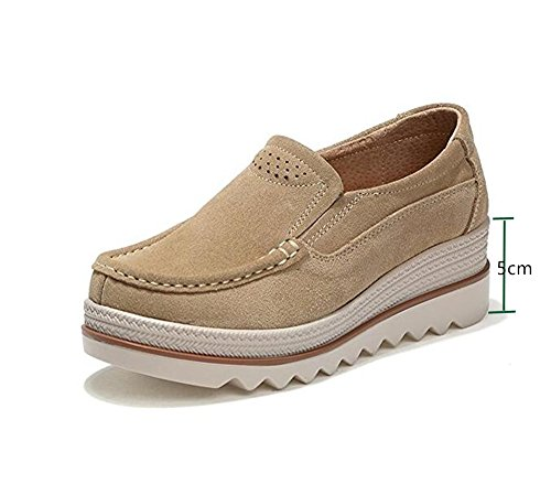 Mujer Mocasines Plataforma Casual Loafers
